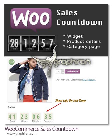 WooCommerce Sales Countdown