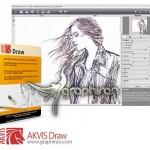 AKVIS Draw 4.0.452.13552 برنامه تبدیل عکس به طراحی با مداد