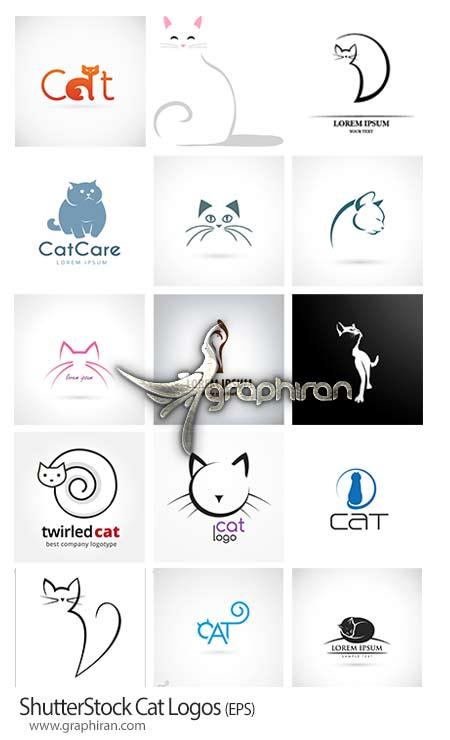 لوگوی وکتور گربه