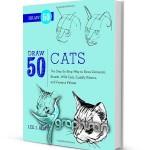 دانلود رایگان کتاب آموزش طراحی و نقاشی ۵۰ نوع گربه