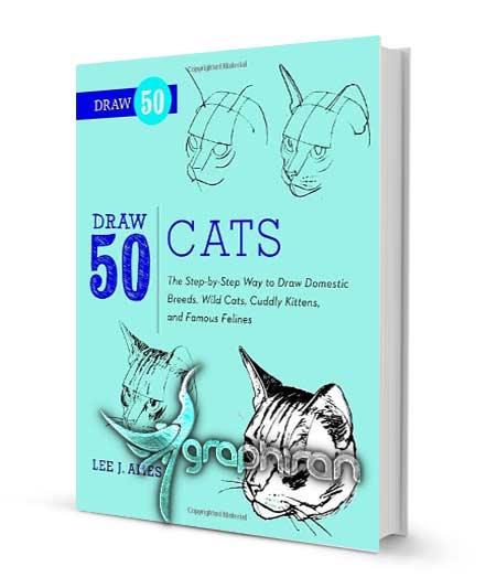 طراحی و نقاشی 50 نوع گربه