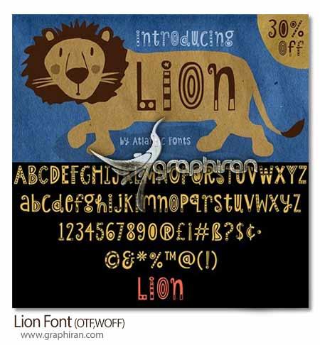 فونت Lion