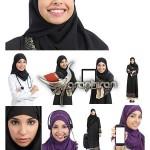 دانلود مجموعه تصاویر شاتر استوک باکیفیت از زن مسلمان با حجاب