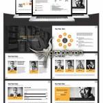 دانلود قالب تجاری پاورپوینت با کیفیت Full HD – شماره ۴۵