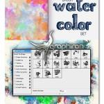 دانلود براش آبرنگ فتوشاپ با کیفیت Watercolor Photoshop Brush