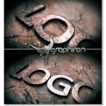 پروژه افترافکت لوگو سنگی متالیک ۳D Metallic Stone Logo Reveal