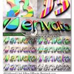 پروژه افتر افکت ارائه لوگو به رنگ های مختلف All Mixed Up