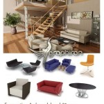 دانلود Evermotion Archmodels Vol.21 مدل های مبل، میز و صندلی