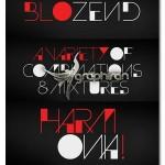 دانلود فونت انگلیسی Blozend با طراحی خلاقانه و ابتکاری