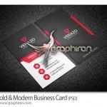 دانلود طرح کارت ویزیت مدرن و شرکتی لایه باز – شماره ۲۷۵