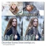 ابزار ساخت صحنه بارش برف در ماه دسامبر December Scenes
