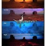 اکشن های فتوشاپ ساخت افکت طلوع و غروب خورشید، شب، باران و مه
