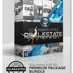 پک تراکت تبلیغاتی معاملات ملکی لایه باز Real Estate Bundle