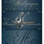 فونت انگلیسی Weingut سبک گل و بوته مناسب طرح های عروسی