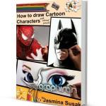 کتاب آموزش گام به گام نقاشی شخصیت های کارتونی با مداد رنگی