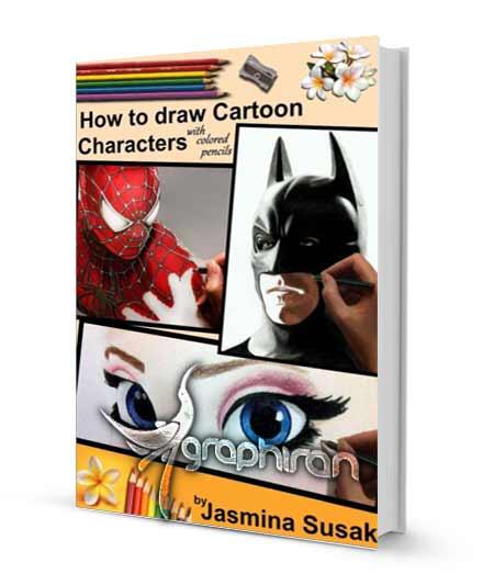 روش نقاشی شخصیت های کارتونی