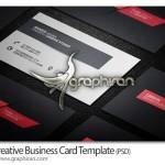طرح ساده و مدرن کارت ویزیت اداری PSD لایه باز – شماره ۲۷۲