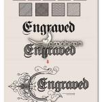استایل های حکاکی ایلوستریتور Engraved Illustrator Styles