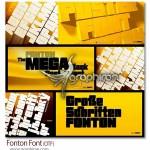 دانلود فونت خلاقانه انگیسی Fonton با طراحی ضخیم و درشت