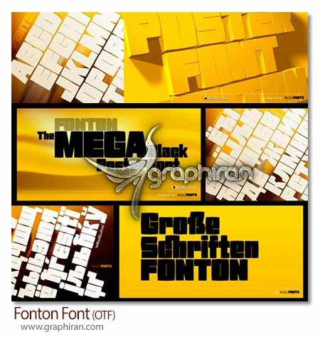 فونت Fonton