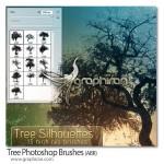 دانلود براش های درخت فتوشاپ با کیفیت Tree Photoshop Brushes