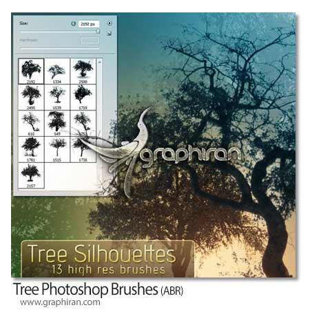 براش درخت فتوشاپ
