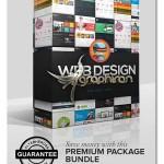 پک تراکت تبلیغاتی لایه باز طراحی وب سایت Web Design Bundle