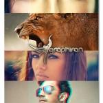 ۷۶ اکشن تغییر رنگ زیبای فتوشاپ Premium Photoshop Actions