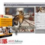 AKVIS Refocus 5.1.453 x86/x64 پلاگین فتوشاپ تنظیم فوکوس عکس