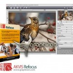 AKVIS Refocus 8.1.750.17408 پلاگین فتوشاپ تنظیم فوکوس عکس