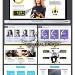 دانلود مجموعه ۳ قالب آماده پاورپوینت تجاری حرفه ای – شماره ۴۹
