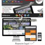 دانلود قالب چند منظوره و ریسپانسیو Business Pro برای Joomla