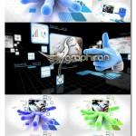 پروژه افتر افکت تیزر تبلیغاتی شبکه و اینترنت Catch Your Network