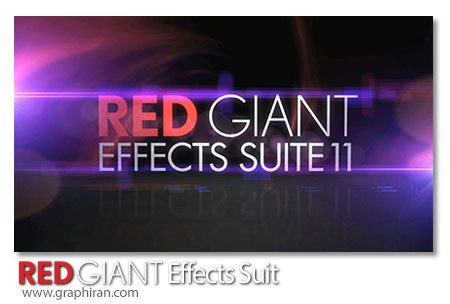 پلاگین Red Giant Effects Suite