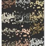 مجموعه ابزارهای فتوشاپ افکت طلای درخشان Gold Glitters Styles