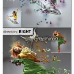 اکشن فتوشاپ انفجار مایع روی عکس Liquid Blast Photoshop Action