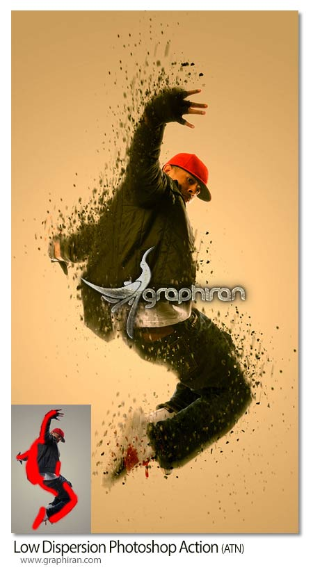 Low Dispersion Photoshop Action