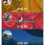اکشن فتوشاپ ساخت بک گراند وب مدرن Modern Web Background Maker