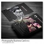 دانلود نمونه کارت ویزیت عکاسی PSD لایه باز – شماره ۲۸۲
