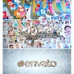 پروژه افترافکت ساخت لوگو از عکس Photos Icons Logo Formation