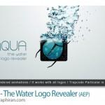 دانلود رایگان پروژه جدید افتر افکت نمایش لوگو با افکت آب