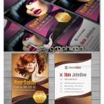 دانلود نمونه کارت ویزیت آرایشگاه زنانه PSD فتوشاپ – شماره ۲۹۵