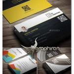 مجموعه ۳ فایل کارت ویزیت PSD با طراحی حرفه ای – شماره ۲۸۶