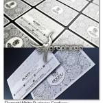 دانلود کارت ویزیت سفید با بک گراند خاص فرمت PSD – شماره ۲۹۳