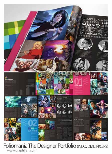 Foliomania The Designer Portfolio