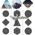 دانلود مجموعه ۳۰ ماسک هندسی عکس زیبا Geometric Photo Masks