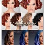 اکشن های فتوشاپ تغییر رنگ مو حرفه ای Khroma Luxe Kolour Pro