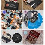 دانلود مجموعه ۶ طرح کارت ویزیت عکاسی PSD لایه باز – شماره ۲۹۶