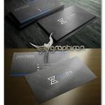 دانلود طرح کارت ویزیت تجاری مدرن فرمت PSD فتوشاپ – شماره ۲۸۷