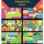 پروژه افتر افکت ۱۲۰ افکت حرکتی و ترانزیشن Transitions Pack